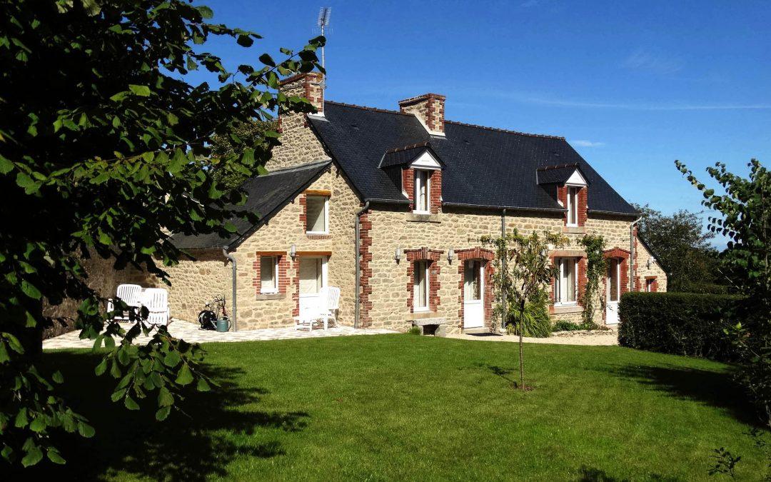 Rénovation d'une maison en pierre